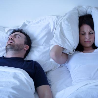 Man en vrouw in bed