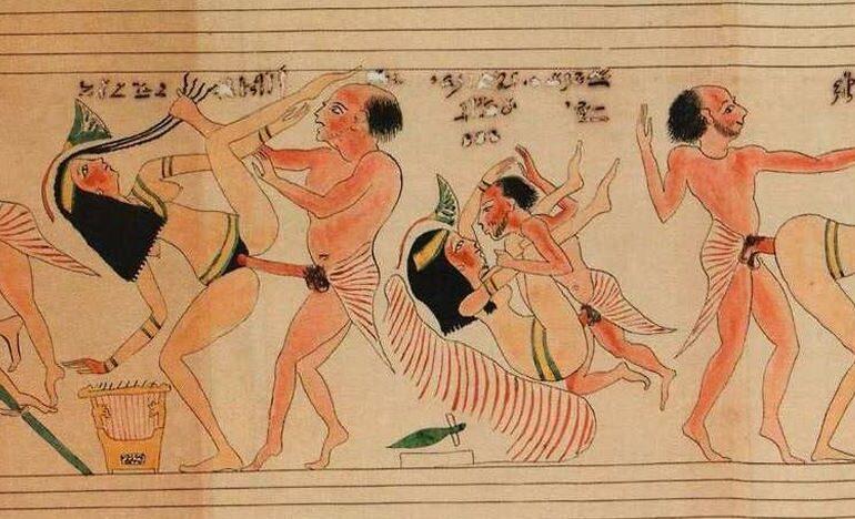 Egyptisch porno afbeelding