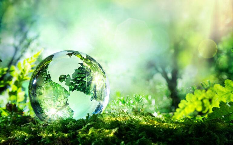 Glassball in nature