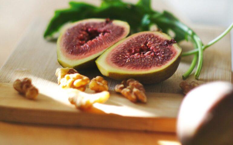 An open fig