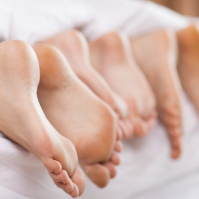 six feets trio in bed DUSK