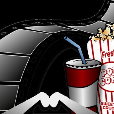 Popcorn en drinken