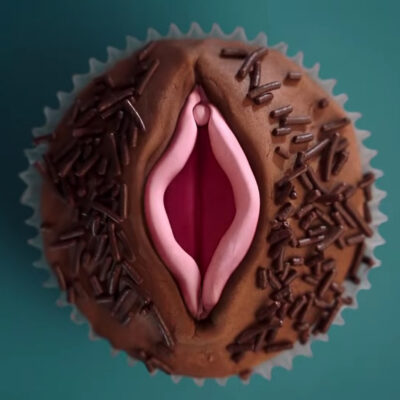 Cupcake looking like a vagina