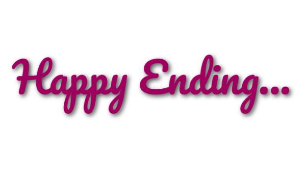 Text Happy Ending