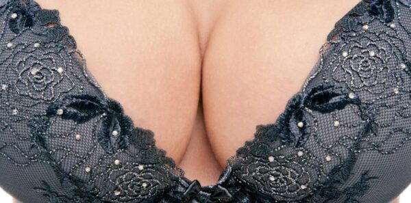 Boobs in a bra