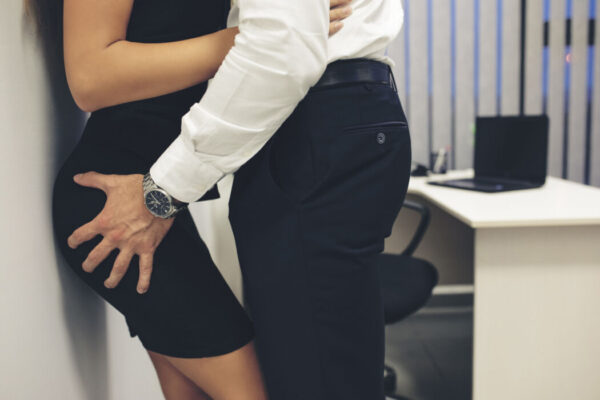 Man and woman at the office