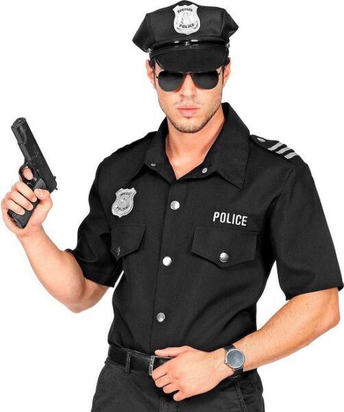 Man in politie uniform